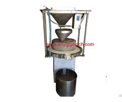 Low Cost Top Grade Manual Stone Mill Machine For Soybean Milk