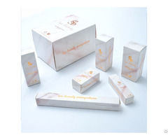 Custom Made Fashion Fancy Color Cosmetic Packaging Paper Box