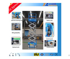10m Self Propelled Rough Terrain Scissor Lift
