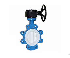 Full Ptfe Lined Lug Butterfly Valve