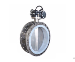 Stainless Steel Concentric Flange Butterfly Valve Bkvalve