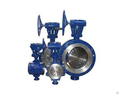 Flange Double Eccentric Butterfly Valve