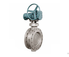 Stainless Steel Flanged Triple Offset Butterfly Valve Bkvalve
