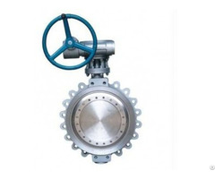 Wafer Metal Hard Triple Offset Butterfly Valve