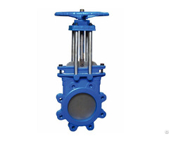 Bkvalve Lugged Stainless Steel Knife Gate Valve