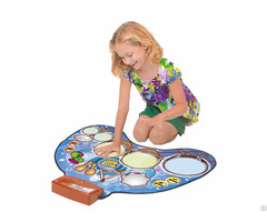 Kids Drum Kit Playmat