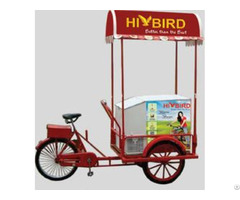 Normal Tricycle With 108l Solar Freezer
