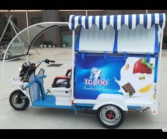 Gasolene Motor With Battery Freezer For Refrigeration Transpport