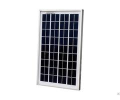 10w 12 Volt Polycrystalline Solar Panel