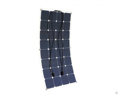 100w 12v Bendable Lightweight Thin Monocrystalline Flexible Solar Panel