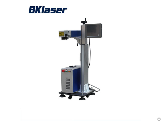 Professional 30w Flying Fiber Laser Marker Machine For Phone Shell Watch
