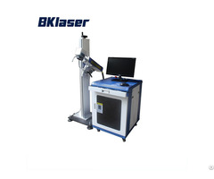 20w High Quality Split Model Fiber Laser Marking Machine For Plastic Bottle