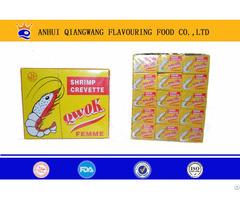 10g 60 24 Jumbo Halal Crevette Shrimp Stock Cube