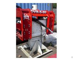 Ovr S80 Used Vibro Hammer Excavator Mounted