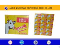 10g Halal Stock Bouillon Cube Beef Taste