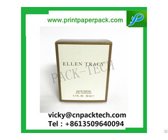 Folding Paper Software Pack Woman Perfume Packaging Homme Cologne Gift Box