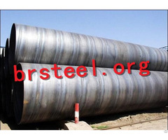 Ssaw Steel Pipe Welded Pipes Anti Corrosion For Building Drilling Differents Styles