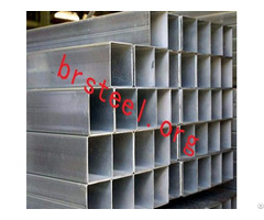Hollow Section Square Rectangular Carbon Steel Pipes Construction Fluid Transportation
