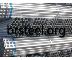 Galvanized Pipes Carbon Steel Pipe Seamless Welded For Fluid Gas Oil Transpotation Construction