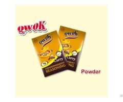Qwok 10g Curry Seasoning Bouillon Powder
