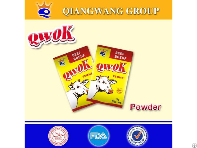 Qwok 10g Beef Seasoning Powder Bouillon