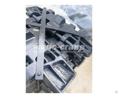 Track Pads Shoes For Hitachi Kh100 2 Crawler Cranes