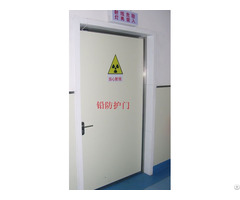 Hospital Clean Rooms X Ray Radiation Protection Lead Door