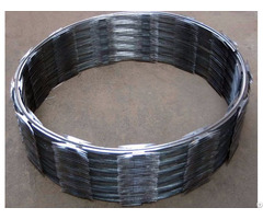 Hot Dipped Galvanized Razor Barbed Type Concertina Wire