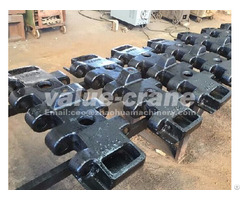 Crawler Crane Undercarriage Parts China Sany Scc1500d Series Track Shoes