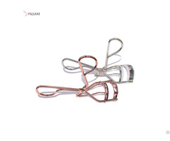 Stainless Steel Curled Cosmetic Makeup Accessory Rose Gold Eyelash Curler