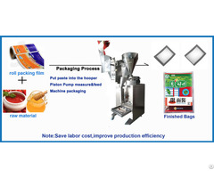 Automatic Bean Paste Packing Machine