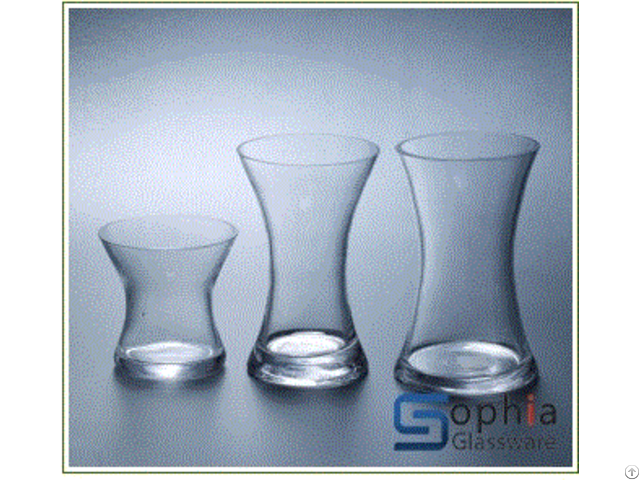 Trumpet Glass Vases