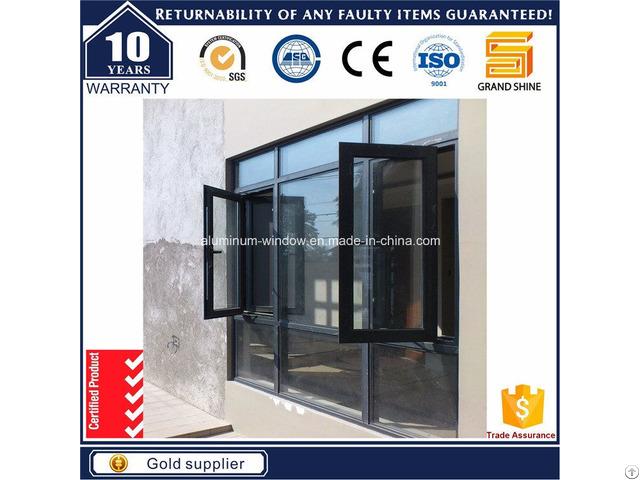 Outward Casement Window Grill Design 6789 Series
