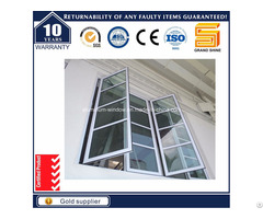 Thermal Break Aluminum Aluminium Casement Tilt Awning Glass Bay House Window Cw50