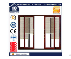 Aluminum 7150 Series Sliding Door With Fly Screen Netting