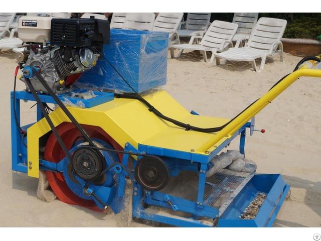 Walk Behind Beach Sand Cleaner