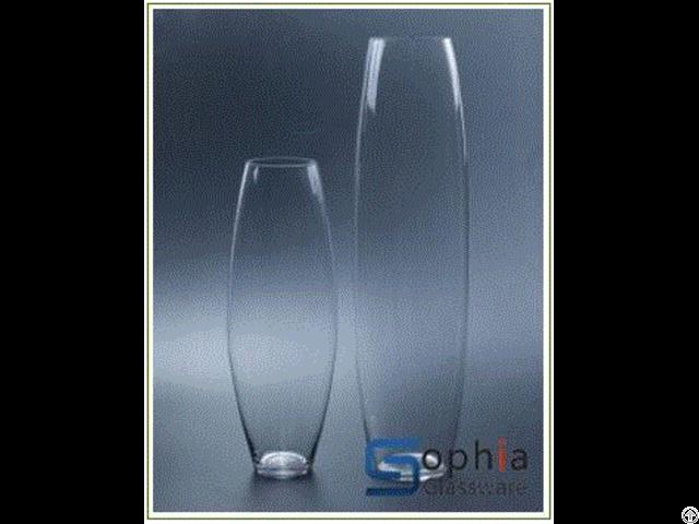 Bullet Glass Vases