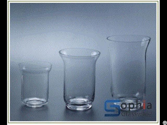Hurricane Glass Vases