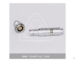 Touch 2pin Straight Plug Fgg 0b 302 Connector For Analyzers Equipment