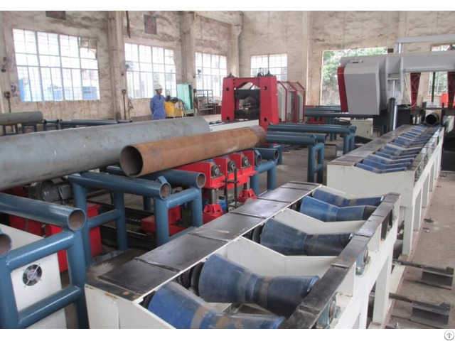 Pipe Prefabrication Longitudinal Trolley Convey System