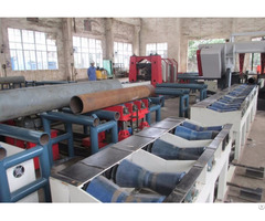 Pipe Prefabrication Longitudinal Trolley Convey System