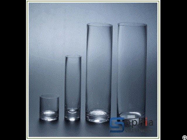Cylinder Glass Vases