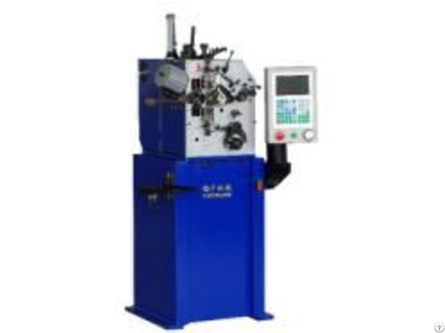 Product 2 Axles High Speed Compression Spring Forming Machine For 0 15mm 0 8mm Wire