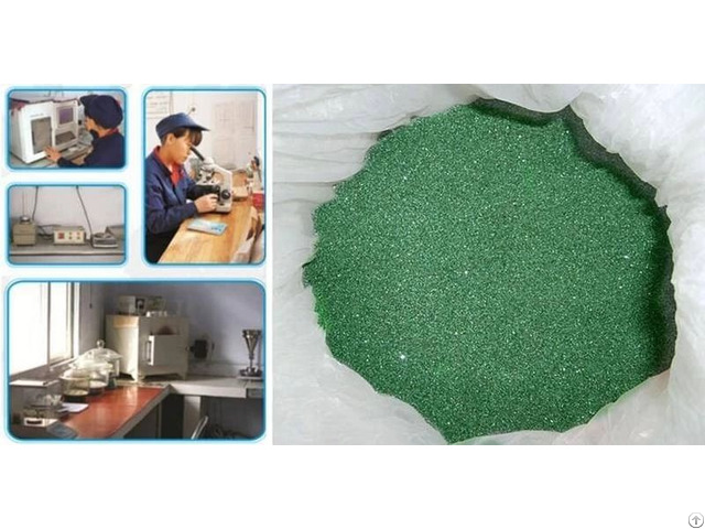 Fepa Standard 40# Green Silicon Carbide Used For Grinding Stones And Wheels