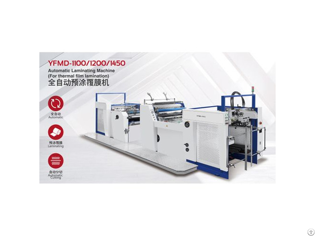 Automatic Laminating Machines Model Yfmd