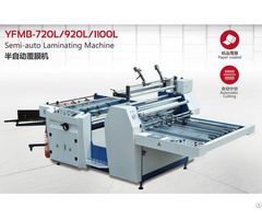 Improved Semi Auto Laminating Equipment Model Yfmb L