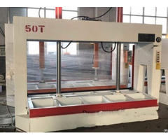 Woodworking Machine 50ton Cold Press For Door Panel