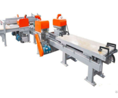 Double Linear Guide Bar Adjustable Dd Trimming Saw