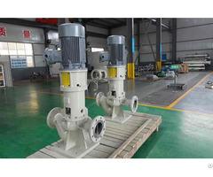 Api610 Oh3 Single Suction Radi Ally Split Vertical Centrifugal Pipeline Pump