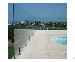 Frameless Glass Balustrade Supply With International Certificates